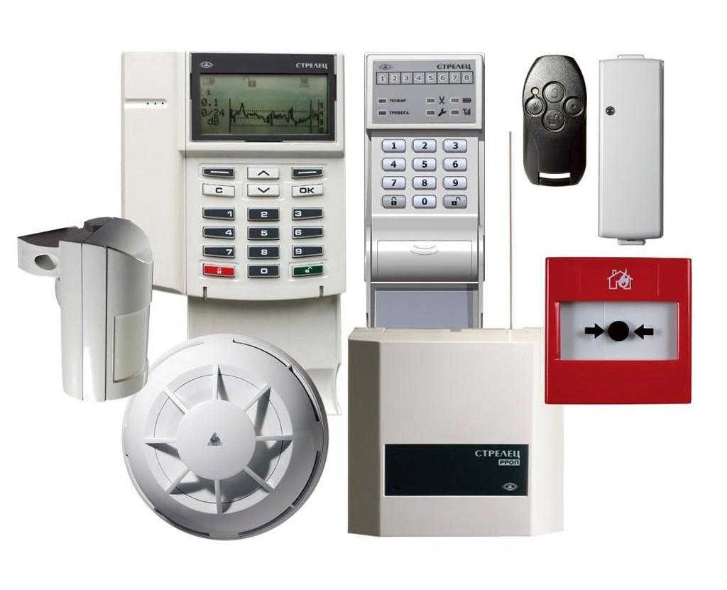 Основные элементы пожарной сигнализации